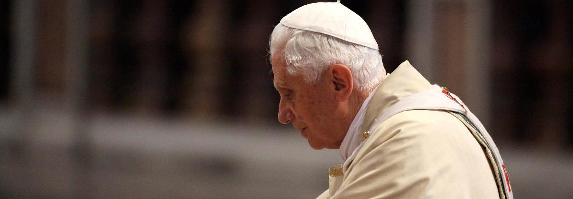 Benedictus XVI in gebed