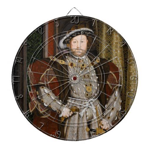 Dartboard van Hendrik VIII