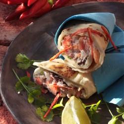 Recept van Jolande Burg, foto van Erik Spaans uit hun nieuw te verschijnen kookboek 'Mexicaans Vegetarisch'.