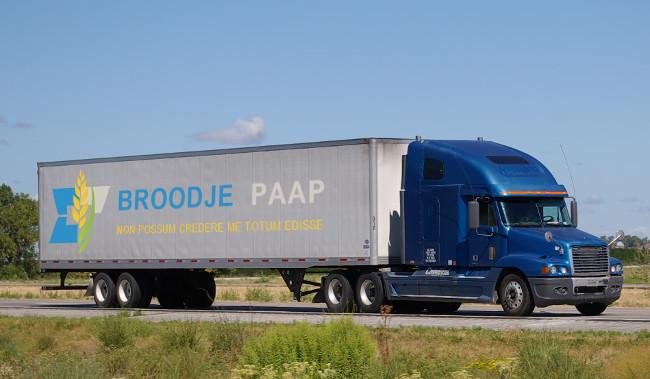 De Broodje Paap verhuiswagen