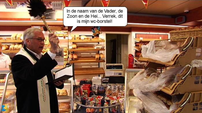 Op  3 november gedenken we Sint-Hubertus. In het zuiden van Nederland worden de hubertusbroorjes (hubkes) gezegend.
