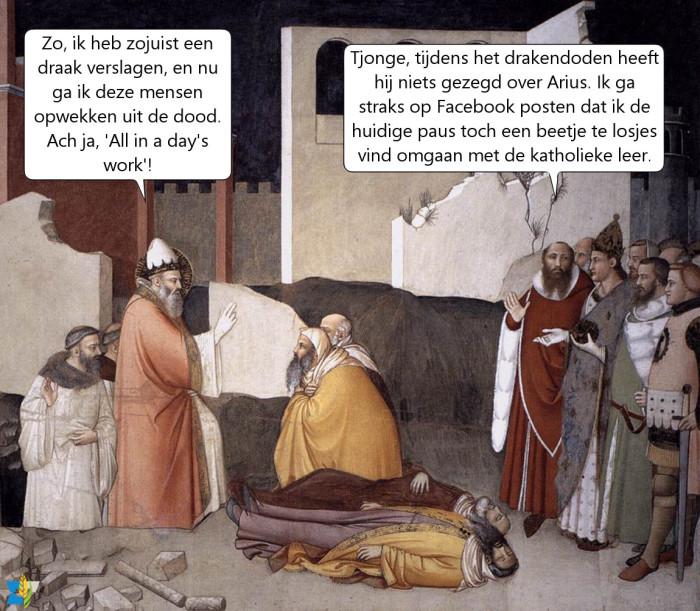 Wat als er ten tijde van paus Silvester al social media waren?