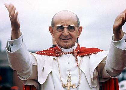 Paulus VI, streng