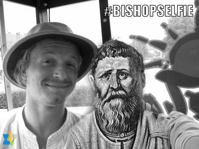 Tijdens een vakantie liep ik Mgr. Augustinus, bisschop van Hippo, eens tegen het lijf.