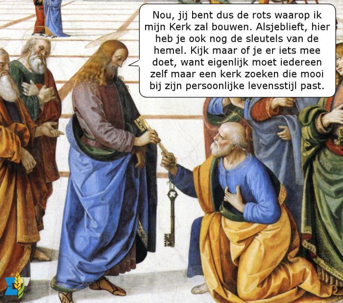 Bij nader inzien blijkt dat Jezus toch een protestant was.