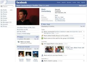 """Schermafbeelding van """"Facebook"""""""