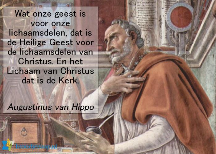 Augustinus over de Heilige Geest.