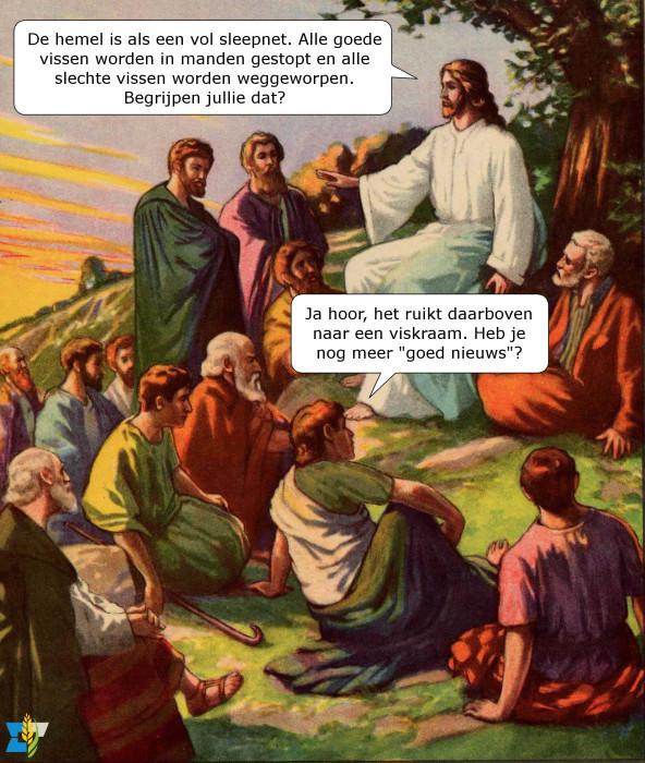 De gelijkenissen van Jezus waren niet voor iedereen weggelegd.