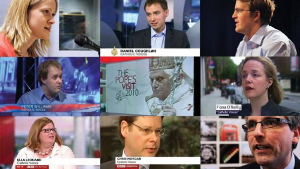 Catholic Voices in de media tijdens het pausbezoek van Benedictus XVI in Engeland.