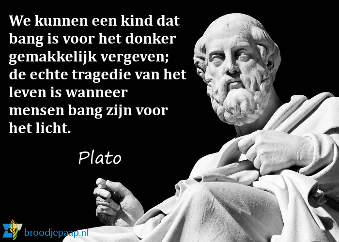 Plato over angst.