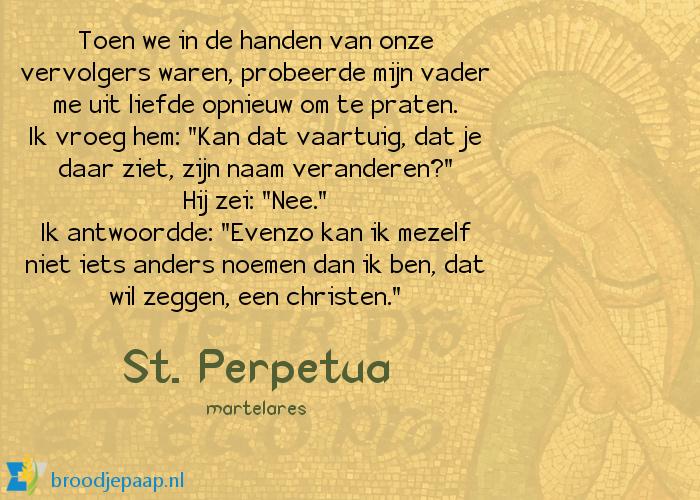 De heilige Perpetua spreekt nog een laatste keer met haar vader, terwijl het martelaarschap haar boven het hoofd hangt.