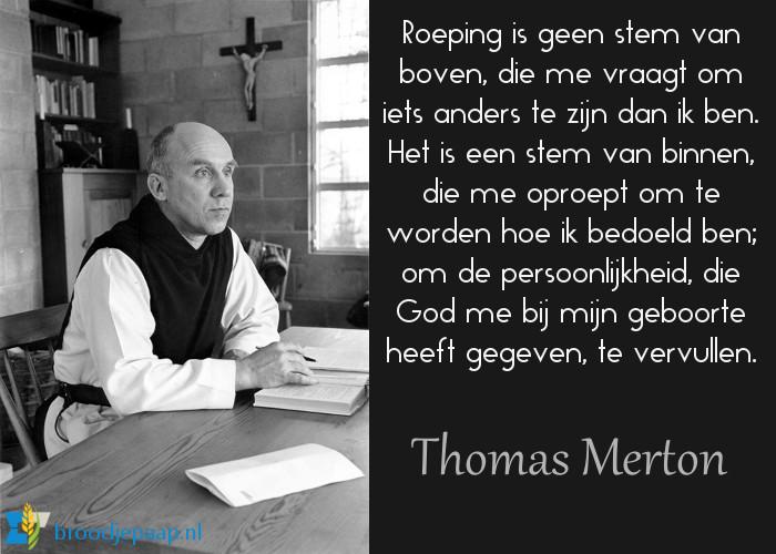 Thomas Merton over roeping.
