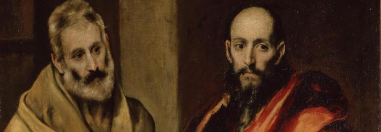 De apostelen Petrus en Paulus
