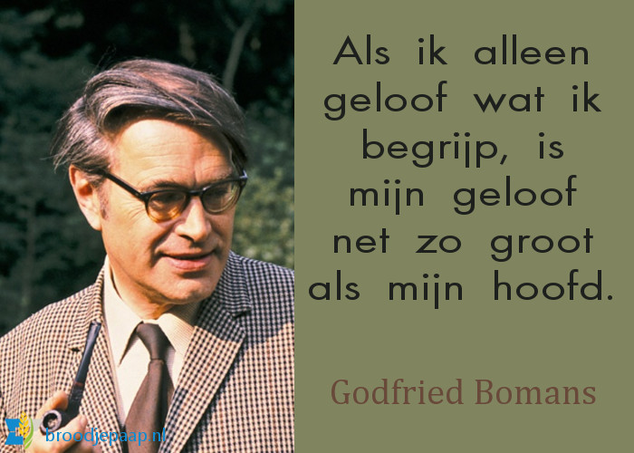 Godfried Bomans over geloof.