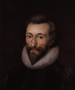 John Donne, zelf inmiddels ook niet meer een van de jongsten.