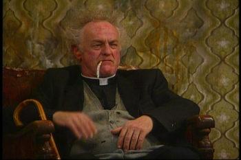 Father Jack Hackett had ook goede voornemens.