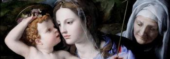 Madonna en Kind door Agnolo Bronzino