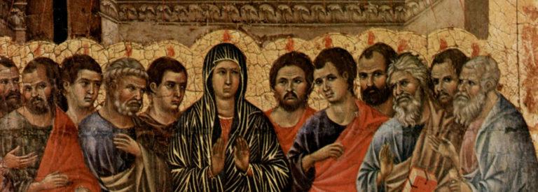 Pinksteren door Duccio di Buoninsegna