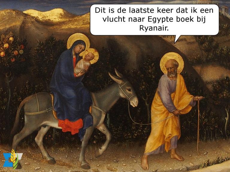 Jozef: Dit is de laatste keer dat ik een vlucht naar Egypte boek bij Ryanair.